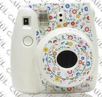 2* Flower Camera Body Decoration Stickers For Fujifilm Polaroid Instax Mini8