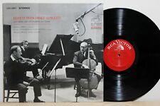 RCA LSC-2867 - HEIFETZ & PIATIGORSKY - Concerts - US 1966 LP NM-