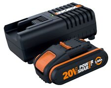 WORX Powershare™ 20V 2.0Ah MAX Lithium-ion Battery & Charger Kit