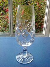 "ROYAL DOULTON / WEBB Crystal - ""Rolleston"" Cut Champagne Flute Glass - 6 1/2"""