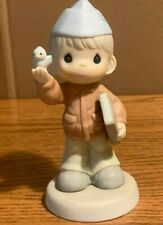 New ListingPrecious Moments Soldier Boy Air Force 588156 Proud to be An American Nib