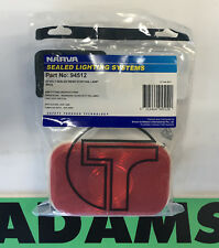 Genuine NARVA Truck-Lite 1x 94512 Sealed Red Rear Stop/Tail Lamp 24 Volt Only