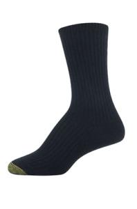 GOLD TOE Womens Limited Edition Cashmere Blend Rib Socks 1 Pair Black $14 - NWT