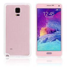 Coque bumper bi-matière TPU pour Samsung Galaxy Note 4 -  Blanc