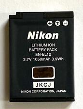 Nikon EN-EL12 Rechargeable Lithium-Ion Battery 3.7V, 1050mAh