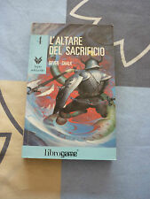 L'ALTARE DEL SACRIFICIO DEVER, CHALK 4 LIBRO GAME