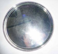 Servierplatte versilbert rund Durchmesser ca. 29 cm Brauke&Berkenhoff