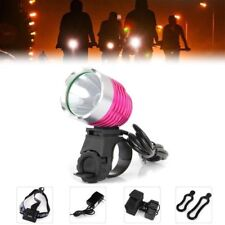 1200LM LED Cycling Bike Bicycle Headlight Headlamp w/Headband 6 Modes US Plug