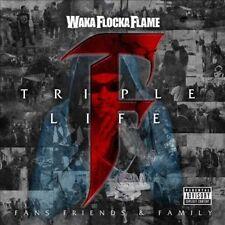 Triple F Life: Friends, Fans & Family [PA] by Waka Flocka Flame (CD,...