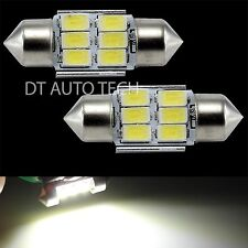 10X High Power 5630 Chip LED White Map/Dome Interior Lights Bulbs 31MM Festoon