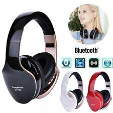 Wireless Bluetooth Headset Foldable Stereo Headphones Gaming Earphones Mic Ear
