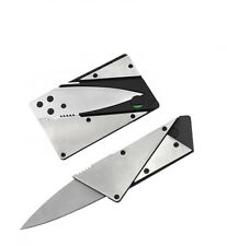 Stainless Steel Blade Credit Card Knife (Compact, Fits In Wallet, NIP) US SELLER