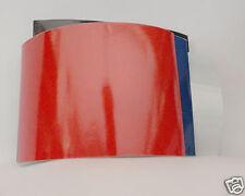 ADHESIF Réfléchissant ROUGE 10 x 15cm Adhesive retro-reflective film.