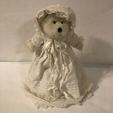 Boyds Bears BLESSED B BABYBEAR Plush Christening Ivory Teddy Bear