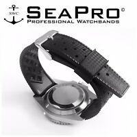 Swiss Designed TROPIC Watch Strap Premium RUBBER Fits Rolex