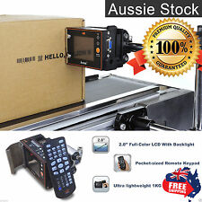 ANSER U2 Alphanumeric Bar code Logo Cartridge Inkjet Printing Machine LCD Remote