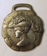 circa 1910 Belmont Packings Clement Restein Co. Philadelphia watch fob