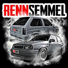 T-SHIRT S-XXXL RENNSEMMEL, Corsa A, Rüsselsheim 80er, GSI
