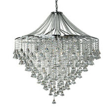 Searchlight Dorchester 7 Lights Chrome Traditional Ceiling Flush Chandelier New