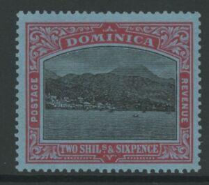 DOMINICA, MINT, #63, OG VLH, WMK 4, CLEAN, SOUND & CENTERED