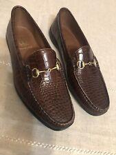 Allen Edmonds Grand Cayman Brown Horsebit Loafers