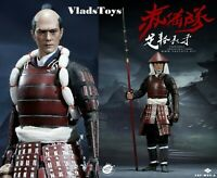 PopToys 1/6 Scale Ashigaru-Spear Standard Version Japanese Foot Soldier W04A USA