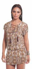 Animal Print Tunic Hand-wash Only Dresses for Women