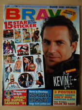 BRAVO 46 - 7.11. 1991 Kevin Costner Michael Jackson Pet Shop Boys Marky Mark