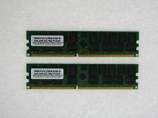 4GB (2X2GB) DDR MEMORY RAM PC3200 ECC REG DIMM 184-PIN