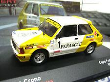 SEAT ( fiat ) 127 Crono Copa fura #1 Villacieros Penascal Rally IXO Altaya 1:43