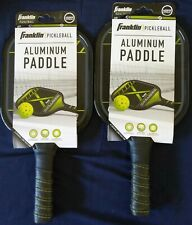 NEW SET OF 2 Franklin Pickleball X-Challenger Aluminum Paddle FREE S&H