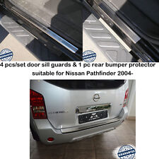 Rear Bumper Protector & Door Sill Guards for Nissan Pathfinder R51 2004-2010