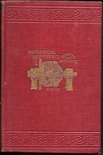 1921 Mechanical Movements, Powers & Devices, 16th Edition by GARDNER D. HISCOX