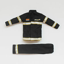 """1/6 Scale Firemen Firefighter Uniform Set Fits 12""""Action Figures The Ultra Corps"""