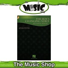 New 'The Boy's Changing Voice' Vocal Solos Music Book & Piano Accompaniment CD