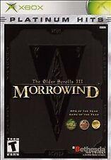 The Elder Scrolls 3: Morrowind (Microsoft Xbox) xb Bethesda RPG iii OOP w/ MAP