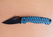 Spyderco ParaMilitary 2 Folding Knife with G10 custom scales + original digicam