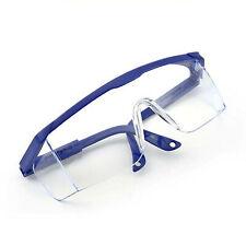Gafas protectoras para los ojos Gafas antivaho seguras Herrajes con marco azul