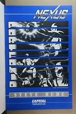 NEXUS - STEVE RUDE & MIKE BARON SIGNED LIMITED ED. PORTFOLIO - 994/2000 - 1982