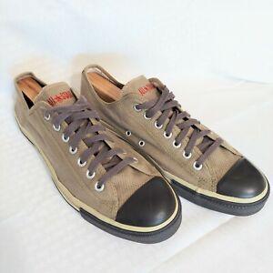 Converse All Star John Varvatos Mens 11.5 Low Profile Shoes Tan Brown Casual