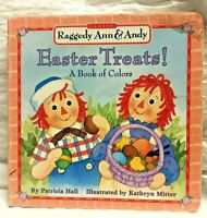 Vintage Raggedy Ann & Andy Easter Treats Board Book Children