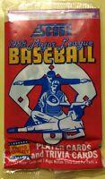 1988 Score Baseball Pack Wade Boggs Red Sox (Top) & Bob Forsch Cardinals (Back)