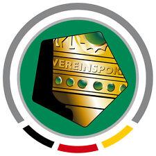 Badge Patch Ärmellogo DFB Pokal 2009 - 2014 7cm für Trikot Bayern Dortmund usw.