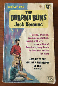 Dharma Bums - Jack Kerouac - Great Pan paperback (1962)