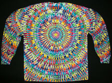 Tie dye dyed t-shirt hippie hippy grateful dead X-Large long sleeve #98