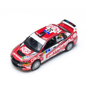 Sunstar 1:43 Mitsubishi EVO 9th generation WRC rally car No. 32 alloy car model