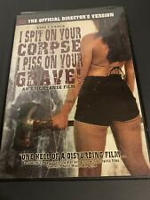 I Spit On Your Corpse, I Piss On Your Grave DVD RARE OOP Horror Cult 2007 NEW