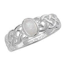 Anelli di lusso in argento sterling pietra di luna