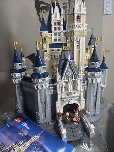 LEGO Complete Disney Parks World Castle Mickey Minnie Donald Daisy Tinkerbell