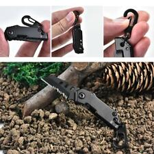 Stainless Steel Folding Knife Keychain Outdoor Portable Camping Survival Tool